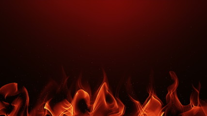 "abstract background with ""flames"" and sparks; loopable"