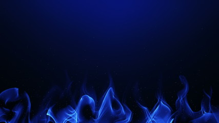 """abstract background with """"flames"""" and sparks; loopable"""