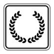 Logo couronne de laurier.