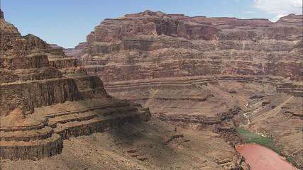 Grand Canyon River Cliffs