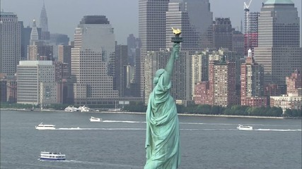 Statue of Liberty on Liberty Island