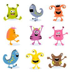little monsters set 3