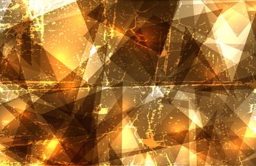 Grundge crystal composition