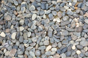 pile pebbles stone
