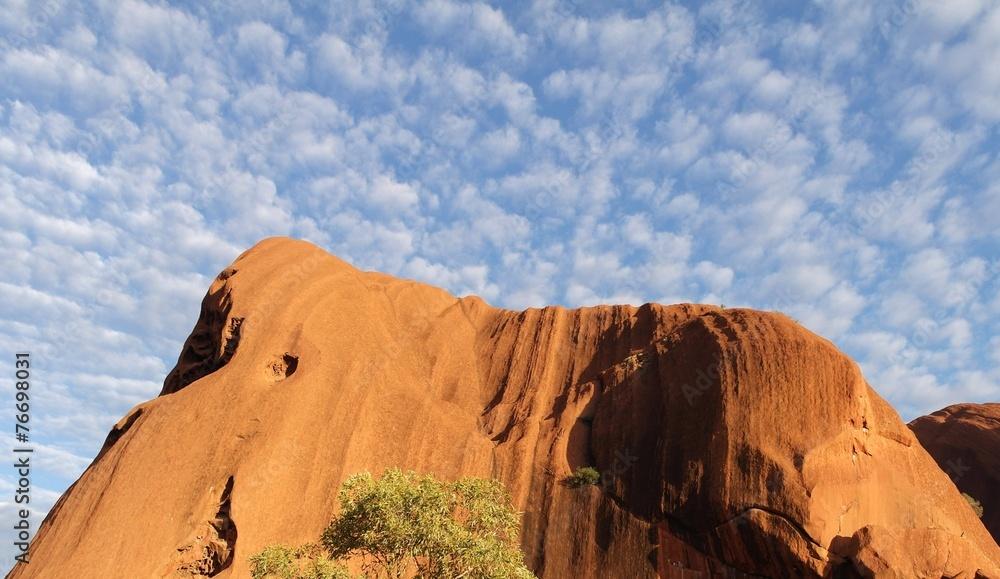 foto auf acrylglas ayers rock australien outback nikkel. Black Bedroom Furniture Sets. Home Design Ideas