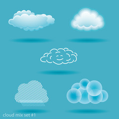set of clouds. No.1