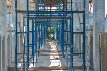construction of the pagoda