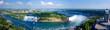 Leinwanddruck Bild - Niagara Falls Panorama