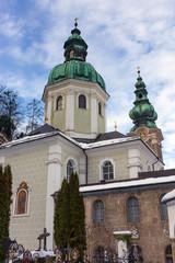 St. Peter Abbey church, Salzburg, Austria