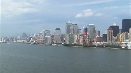 Manhattan Island City Skyscrapers