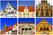 6 Rathäuser in WESTFALEN ( NRW )
