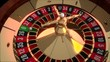 Realistic Casino Roulette Wheel with Zero Winning Number