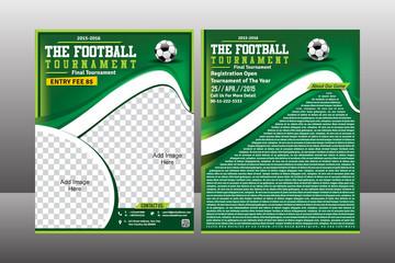 Football Trourament Flyer Template