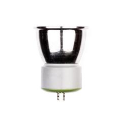 LED light bulb with GU5.3 socket Isolated on white