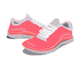 canvas print picture - Pink Sneakers