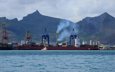 Africa, Port Louis city in Mauritius Island
