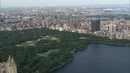 Central Park Manhattan Island