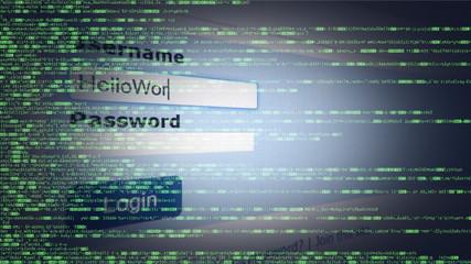 Source code hacker login username password