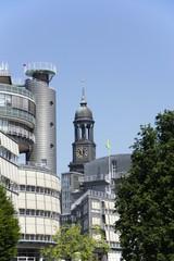Sankt Michaelis Kirche in Hamburg, Deutschland
