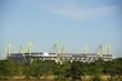 Leinwandbild Motiv Fussballstadion in Dortmund, Deutschland