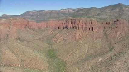 Desert Mountains Cliffs