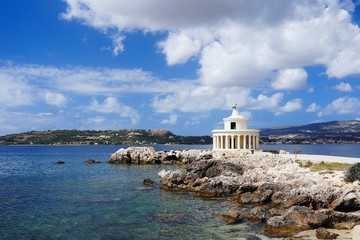 Lighthouse Fanari in Argostoli, Kefalonia
