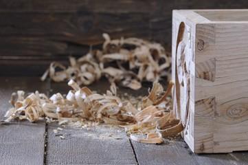 Drawer wood dovetail.