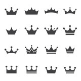 crown icon poster
