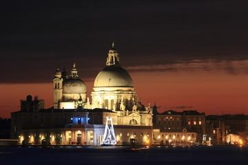 venezia piazza san marco di notte