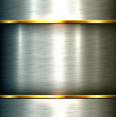 Polished metal background