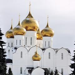 The Uspensky Cathedral in Yaroslavl