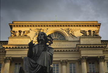 Kopernikusstatue in Warschau