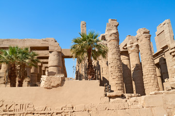 Ruin of the Karnak Temple, Egypt