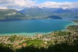 Le lac d'Annecy, depuis le Semnoz