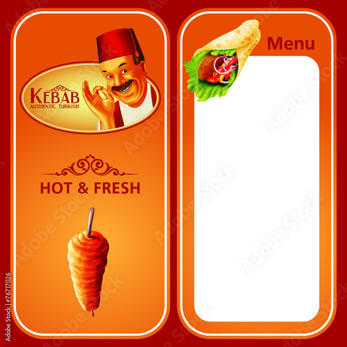 KEBAB MENU HOT & FRESH - 76717026