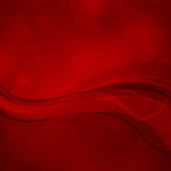 Vector Illustration of an Abstract Red Background