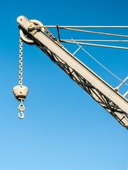 Crane with hook