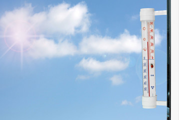 spring  thermometer