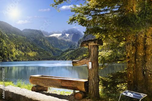 lac de gosau autriche