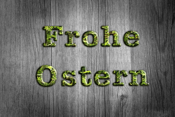 Frohe Ostern ©yvonneweis