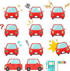 自動車のキャラクター