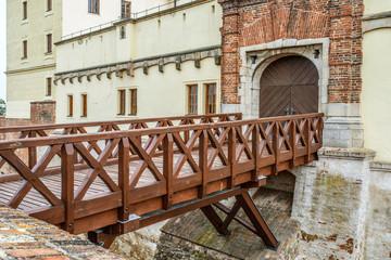 bridge of Spilberk Castle in Brno