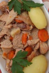 Tripes à la Normande - Pommes de terre vapeur
