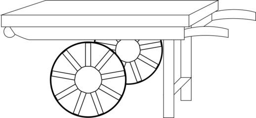 handcart vector4