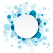 Infographic Abstract Circles - Art Vector Background