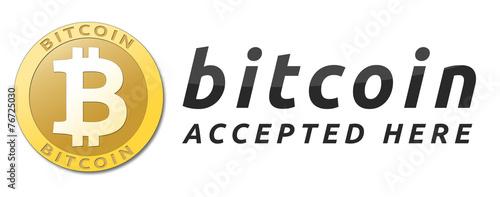 Golden bitcoin virtual currency. - 76725030