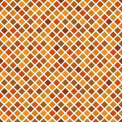 Autumn mosaic seamless pattern