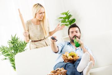 Shut Up Wife, Match Starts