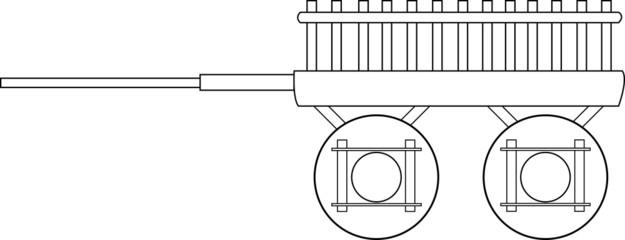 handcart vector5