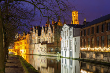 Bruges. Green channel.